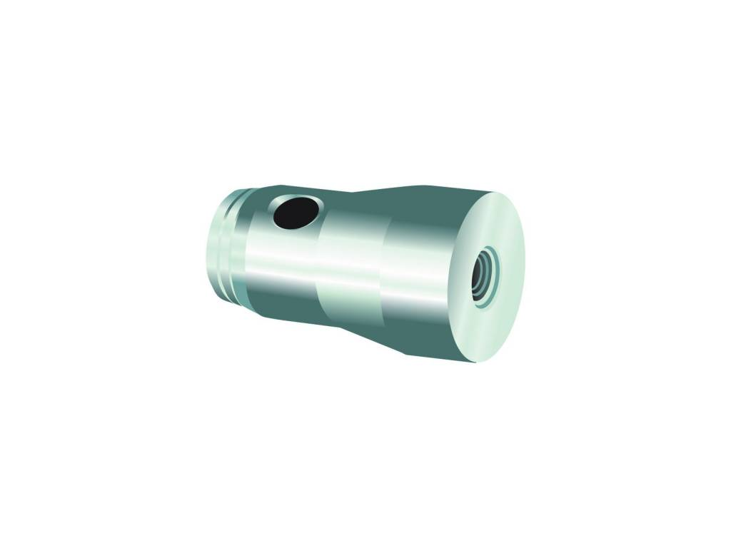 ALUTRUSS ALUTRUSS QUADLOCK half conical coupler w. thread