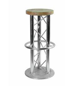ALUTRUSS ALUTRUSS Bar stool with ground plate