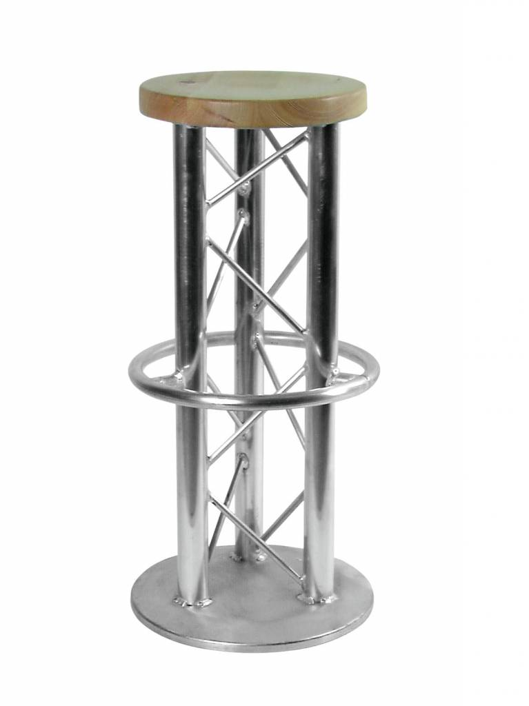 ALUTRUSS ALUTRUSS Bar stool with ground plate