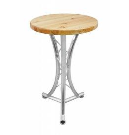 ALUTRUSS ALUTRUSS Bistro table, curved