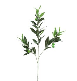 EUROPALMS EUROPALMS Olive branch with fruits 68cm 6x