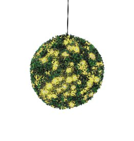 EUROPALMS EUROPALMS Boxwood ball with yellow LEDs, 40cm
