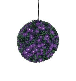 EUROPALMS EUROPALMS Boxwood ball with purple LEDs, 40cm
