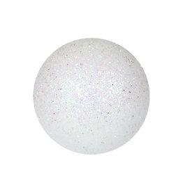 EUROPALMS EUROPALMS Decoball 3,5cm, white, glitter 48x