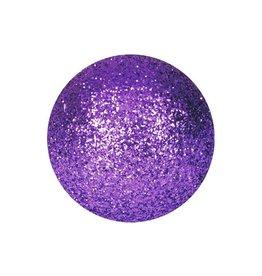 EUROPALMS EUROPALMS Decoball 3,5cm, violet, glitter 48x