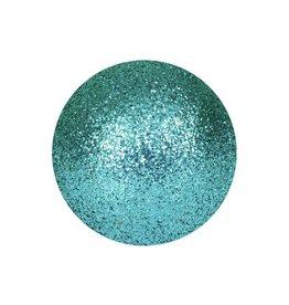 EUROPALMS EUROPALMS Decoball 3,5cm, turquoise, glitter 48x