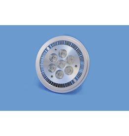 OMNILUX OMNILUX 7x1W LED AR111 PAR36 12V 9W ww