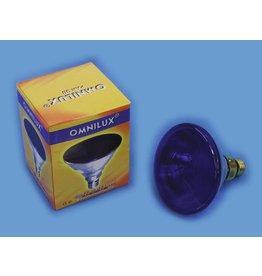 OMNILUX OMNILUX PAR-38 230V/80W E-27 FL blue