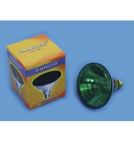 OMNILUX OMNILUX PAR-38 230V/80W E-27 FL green