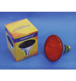 OMNILUX OMNILUX PAR-38 230V/80W E-27 FL red