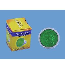OMNILUX OMNILUX JCDR 230V/35W GX-5.3 1500h green