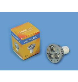 OMNILUX OMNILUX GU-10 230V 3x1W LED 6500K CR