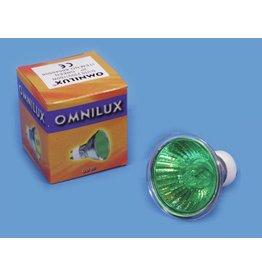 OMNILUX OMNILUX GU-10 230V/35W 1500h green