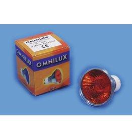 OMNILUX OMNILUX GU-10 230V/50W 1500h 25 red