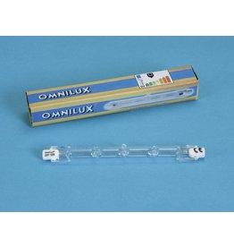OMNILUX OMNILUX 230V/120W R7s 117mm pole burner H