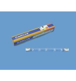 OMNILUX OMNILUX 230V/160W R7s 118mm pole burner H
