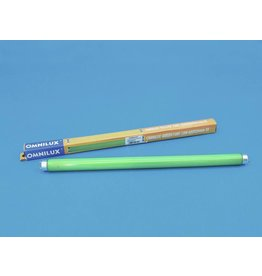 OMNILUX OMNILUX Tube 15W G13 450x26mm green glas