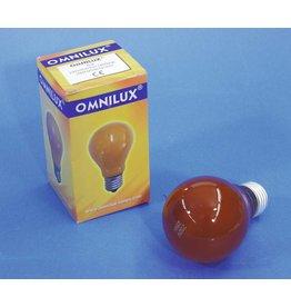 OMNILUX OMNILUX A19 230V/25W E-27 orange