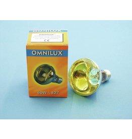 OMNILUX OMNILUX R80 230V/60W E-27 yellow