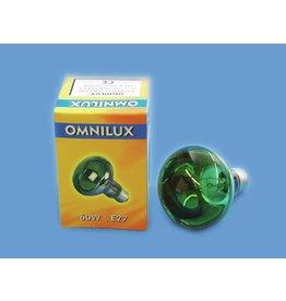 OMNILUX OMNILUX R80 230V/60W E-27 green