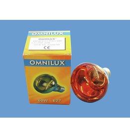 OMNILUX OMNILUX R80 230V/60W E-27 orange