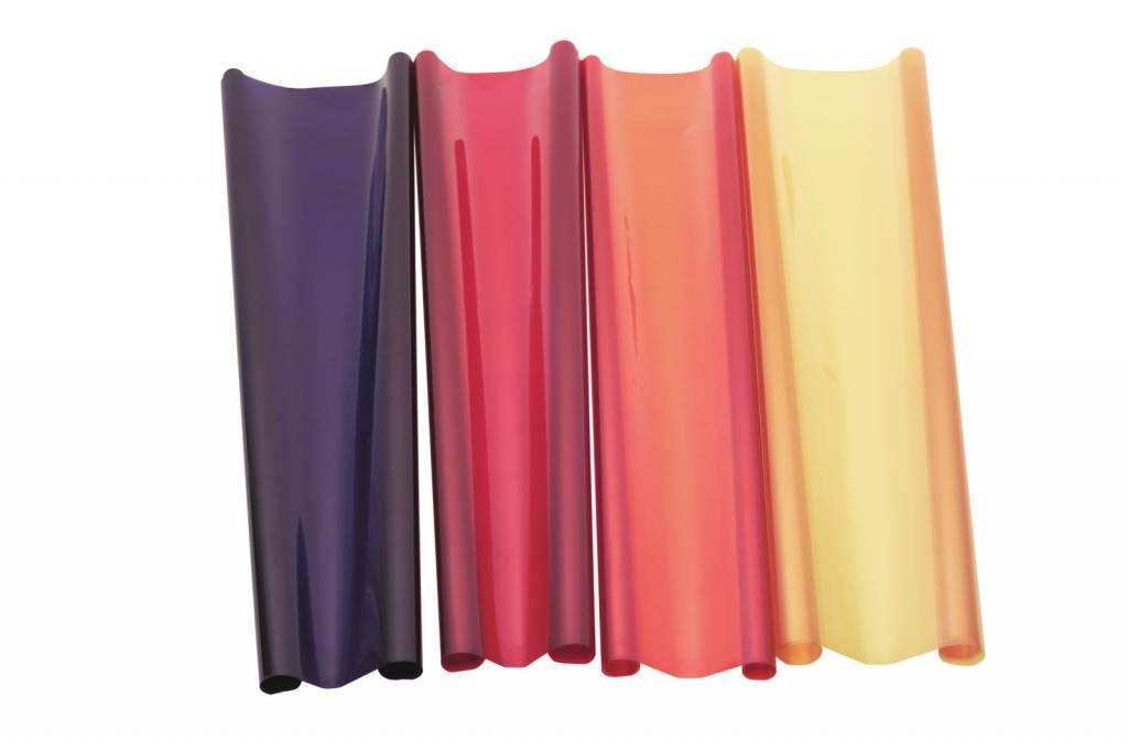 ACCESSORY Color foil 116 mediumblue green 122x100cm