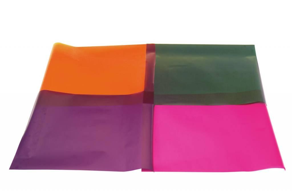 ACCESSORY Color foil 158 deep orange 61x50cm