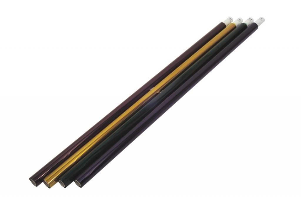 ACCESSORY Color foil roll 115 peacock 122x762cm