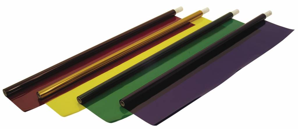ACCESSORY Color foil roll 124 dark green 122x762cm