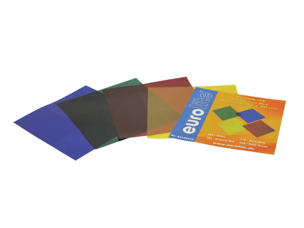 ACCESSORY Color-foil set 19x19cm, four colors
