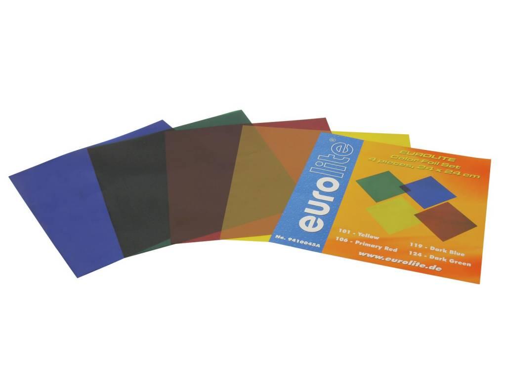ACCESSORY Color-foil set 24x24cm,four colors