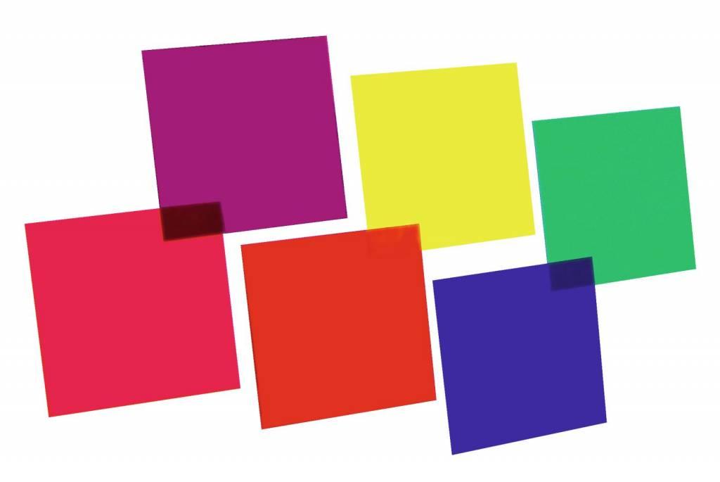 ACCESSORY Color-foil set 24x24cm,six colors
