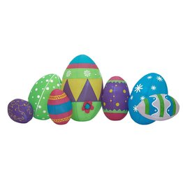 EUROPALMS EUROPALMS Inflatable Figure Easter Eggs, 100cm