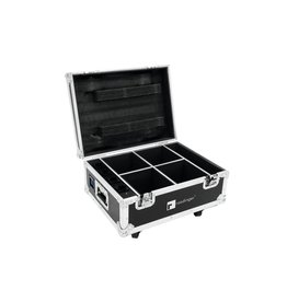 ROADINGER ROADINGER Flightcase 4x AKKU IP UP-4 QuickDMX with charging func