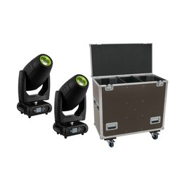 EUROLITE EUROLITE Set 2x DMH-300 CMY Moving-Head + Case