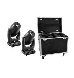 EUROLITE EUROLITE Set 2x DMH-200 LED Moving-Head + Case