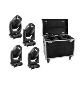 EUROLITE EUROLITE Set 4x DMH-200 LED Moving-Head + Case