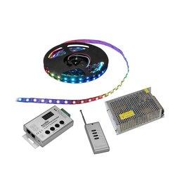 EUROLITE EUROLITE Set LED Pixel Strip RGB 5m + Controller + Transformer 5