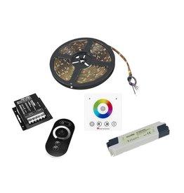 EUROLITE EUROLITE Set LED Strip RGB 5m + RF Controller + Wandpanel + Traf