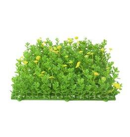 EUROPALMS EUROPALMS Grass mat, artificial, green-yellow, 25x25cm