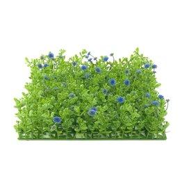 EUROPALMS EUROPALMS Grass mat, artificial, green-purple, 25x25cm