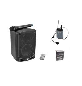 OMNITRONIC OMNITRONIC Set WAMS-65BT + Bodypack transmitter incl headset + B