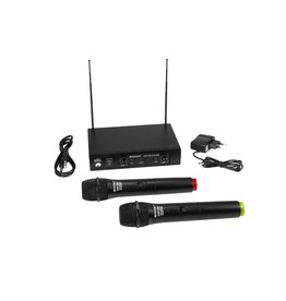 OMNITRONIC OMNITRONIC VHF-102 Wireless Mic System 215.85/207.55MHz