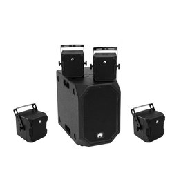 OMNITRONIC OMNITRONIC Set BOB-10A bk + 4x BOB-4 bk