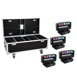 EUROLITE EUROLITE Set 4x LED TMH-X Bar 5 Beam + Case