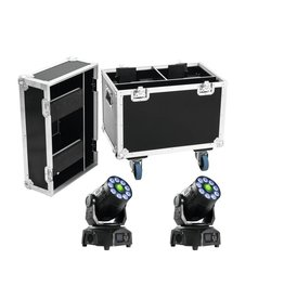 EUROLITE EUROLITE Set 2x LED TMH-75 Hybrid + Case