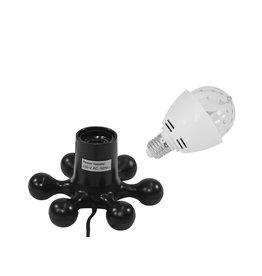 EUROLITE EUROLITE Set LED BC-1 6400K + Hexopus base black