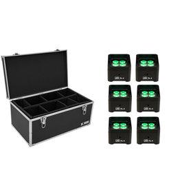 EUROLITE EUROLITE Set 6x LED TL-4 Trusslight + Case