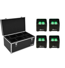 EUROLITE EUROLITE Set 4x LED TL-4 Trusslight + Case