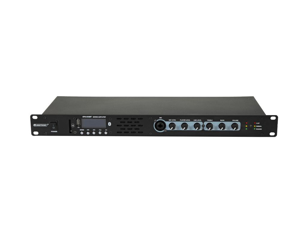 OMNITRONIC OMNITRONIC EPA-100BT Mixing Amplifier